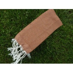 Mini fouta marron