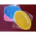 Porte savons silicone oval