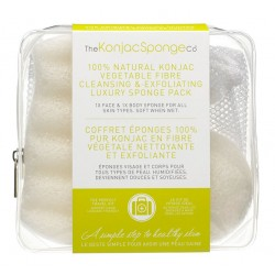 "Eponges Konjac ""travel pack"""